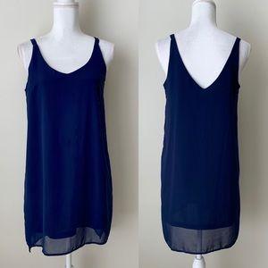 Fashion Union blue mini dress